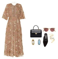 """""""amor amor"""" by andy993011 ❤ liked on Polyvore featuring Maison Margiela, Valentino, Manolo Blahnik, Lee Angel Jewelry, Oliver Peoples, Mociun and Madewell"""
