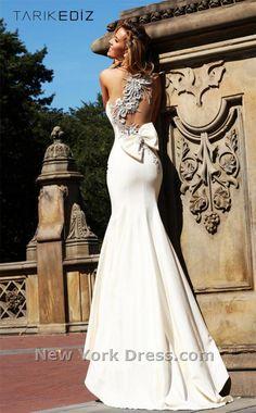 Amazing wedding dress!    Tarik Ediz 92092 Dress - NewYorkDress.com
