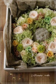 Wreath, easter, spring, flower