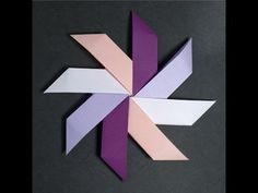 Origami – How to fold the best ever paper pinwheel origami tutorial, origami pinwheel instructions