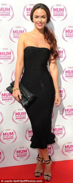 Mini Hollyoaks reunion: Jennifer Metcalfe (L) joined forces with former co-star Gemma Mern...