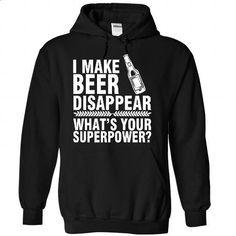 I Make Beer Disappear - personalized t shirts #shirtless #tshirt bemalen
