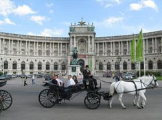 The Hofburg Imperial Palace in Vienna Austria is a medieval castle that dates back some 800 years. The castle was once home to the Hapsburgs dynasty. Today, it is the residence of Austria's president.