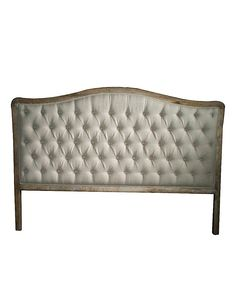Official Website Chardin Bedhead King Upholstered Fabric Button Timber Frame Beige Headboard Terrific Value Furniture Home & Garden