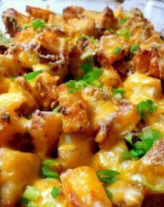 Cheesey ranch potatoes yum