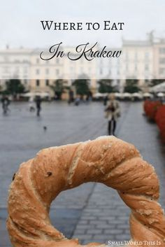 Here's a list of my favorite restaurants, cafes and bakeries to eat at near Krakow's city center.