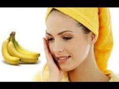 قناع الموز لتغذية البشرة وترطيبها