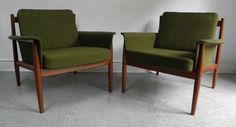 Danish Modern Chairs.
