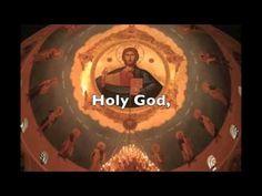 Trisagion Hymn- Byz.Tone 3- (Arabic, Greek, English)