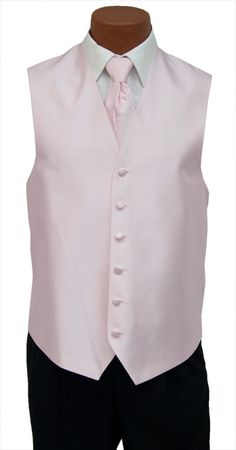 a0262292ec7 4X-Large Mens Light Pink Aries Fullback Wedding Prom Formal Tuxedo Vest   fashion