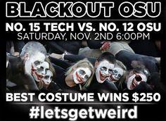 Blackout OSU #letsgetweird #WreckOSU #TexasTech