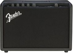 The Fender Mustang GT 40 is a guitar amplifier combo. New for 2017 it replaces the Mustang II Equipped with WiFi it takes digital amp technology to the next level. How can a modern legend like the Fender Mustang digital amplifiers be improved? Guitar Amp, Cool Guitar, Wi Fi, Best Wireless Router, Bass Drum, Marshall Speaker, Display Screen, Bluetooth, Models