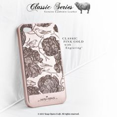 love these cases, made of lambskin leather with laser engravings