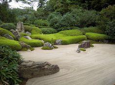 If you were looking for (modern garden design), take a look below Zen Rock Garden, Garden Art, Tropical Landscaping, Garden Landscaping, Garden Design Ideas Videos, Garden Diy On A Budget, Japan Garden, Garden Lanterns, Modern Garden Design