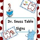 Here are 5 table signs that you could use with a Dr. Seuss themed room.  Enjoy :)  Not sure what theme you want your classroom to be? Check out my ...
