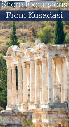 Shore Excursions From Kusadasi.  A great list of things to do in the historic Kusadasi and Ephesus.  Check out this great tour!