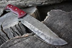 "Handmade FOF ""Defilade 7""  fixed blade full tang working, hunting and tactical knife"