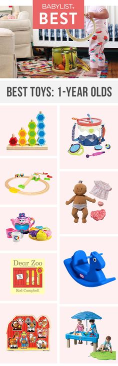 Your newly minted toddler is going to love playing with these toys.