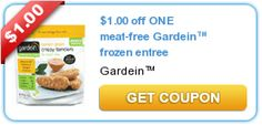 $1.00 off ONE meat-free Gardein™ frozen entree