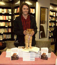 James Bowen and Bob the Street Cat   Flickr - Photo Sharing!