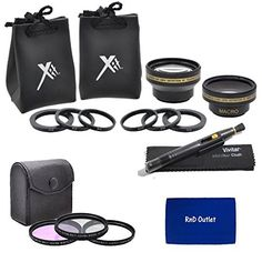 Introducing 52mm MultiCoated 3 Piece Digital Filter Kit UVCPLFLD  CloseUp Macro Filter Set 1 2 4 10  043x Professional HD Auto Focus Wide Angle Lens with Macro  Pro Series 22x High Definition AF Telephoto Lens  Lens Cleaning Pen  rnd Microfiber Cloth For The Nikon D5300 D5000 D3000 D3200 D3300 D5100 D5200 D3100 D7000 D7100 D4 D4S D800 D800E D600 D610 D40 D40x D50 D60 D70 D80 D90 D100 D200 D300 D3 D3S D700 Digital SLR Cameras Which Have Any Of These 1855mm 55200mm 50mm Nikon Lenses. Great…