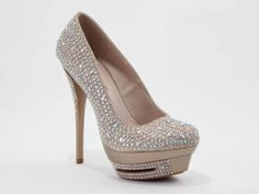 Love these Night Moves shoes! Perfect for prom. Available in nude and silver at #formalapproach #prom2014