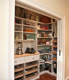Huge Walk in Pantry with room for an extra fridge or freezer