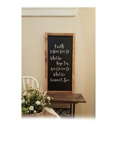 Chalkboard SignKitchen DecorKitchen SignEntry DecorLiving