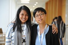 LWF Young Reformer Ms. Sumita Chin Fiew (Malaysa) and LWF Vice President Ms. Eun Hae Kwon at Workshop Wittenberg in 2015. #Day240 until the Twelfth Assembly #Assembly365 #LWFAssembly #Lutheran