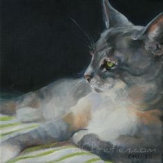 Keeper of Secrets - Carol Chretien, painting by artist Art Helping Animals