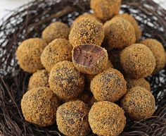 baileys & speculoos truffles