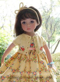 Little Darlings - just adore these dolls. Pretty Dolls, Cute Dolls, Beautiful Dolls, Barbie, Ag Dolls, Girl Dolls, Dream Doll, Little Doll, Child Doll