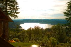Overlooking sparkling Lake Mayfield, www.adytumsanctuary.com is a fairytale wedding venue.