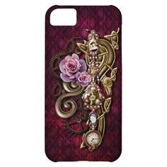 Steampunk Girly iPhone 5 Case