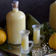 There is nothing better than having a wonderful meal with family and friends and ending it with this rich, luscious Crema di Limoncello di Vittoria. Crema di Limoncello This post was originally published on Italian Limoncello Recipe, Making Limoncello, Homemade Limoncello, Summer Drinks, Fun Drinks, Cocktail Drinks, Beverages, Cocktails, Alcoholic Drinks
