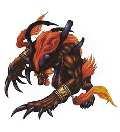 Final fantasy X. FFX. Ifrit summon