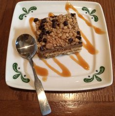 A Salted Caramel Tiramisu.Tried this on our last trip and it was soo good. Wish we had gone again. Olive Garden
