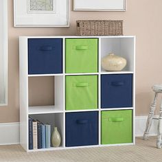 Perfect Solution For A Variety Of Storage Needs Use Alone Or With  Coordinating Fabric Bin(. Cube StorageStorage UnitsCubby ...