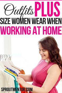 Are you forced to work from home by the current Covid-19 or Corona pandemic quarantine? I have been working from home since 2017 and that is why I decided to share ideas on work from home outfit especially for plus size women like me. You will get a mix of comfy, casual, professional, summer and spring work from home outfit ideas. #workfromhome #workfromhomeoutfit #workfromhomeoutfitplussize #workfromhomejobs #workfromhomeoffice #covid19 #quarantine #workfromhometips #workfromhomewithkids Work From Home Careers, Work From Home Companies, Legitimate Work From Home, Online Work From Home, Work From Home Opportunities, Work From Home Tips, Make Money From Home, How To Make Money, Make Money Online Surveys