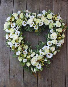 Åpent hjerte til begravelse
