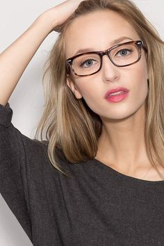 Cheap Eyeglasses, Eyeglasses For Women, Oval Face Shapes, Oval Faces, Blonde With Glasses, Womens Glasses Frames, Glasses For Your Face Shape, Cute Glasses, Glasses Style