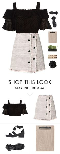 """""""Tea time"""" by genesis129 ❤ liked on Polyvore featuring Proenza Schouler, Windsor Smith, LORAC, Lux-Art Silks and vintage"""
