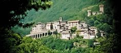 Arquata del Tronto - Marche, Italy   My Grandparents lived in a village outside this city called Piedilama.  All their birth and marriage reccords are here.  Love to go there one day!