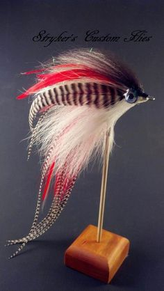 Now thats an awesome looking fly. For more fly fishing info follow and subscribe www.theflyreelguide.com Also check out the original pinners site and support