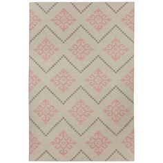 Capel Rugs Sno Peony Woven Wool Rug