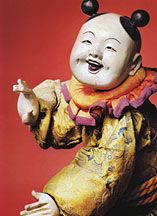 A delightful journey into the little known world of antique Japanese dolls, focusing largely on examples from the Edo period (1615-1868), known as the Golden Age of Japanese Dolls.