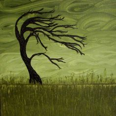 After the Storm: when looking at this you should feel calm and refreshed as well as genuine based on the Feng Shui or yin and yang color principles of this painting.