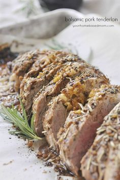 Balsamic Herbed Pork