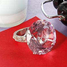 Personlized Crystal Napkin Ring