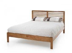 Serene Esther 5ft King Size Oak Wooden Bed Frame by Serene Furnishings